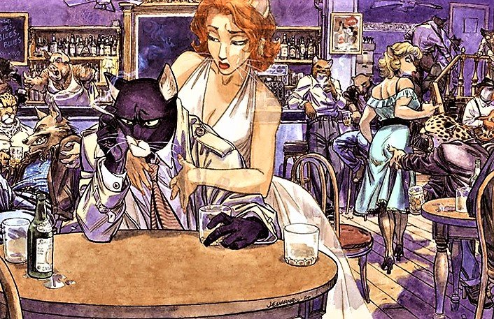 John Blacksad I Juanjo Guarnido (Dibujo y color) I Norma Editorial